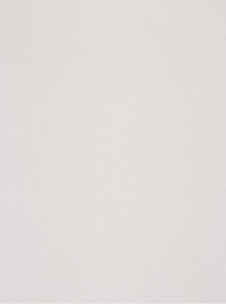 Bluză albă ONLY Tula cu decupal pe umeri