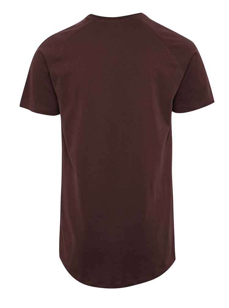 Vínové triko s krátkým rukávem Jack & Jones Corafe