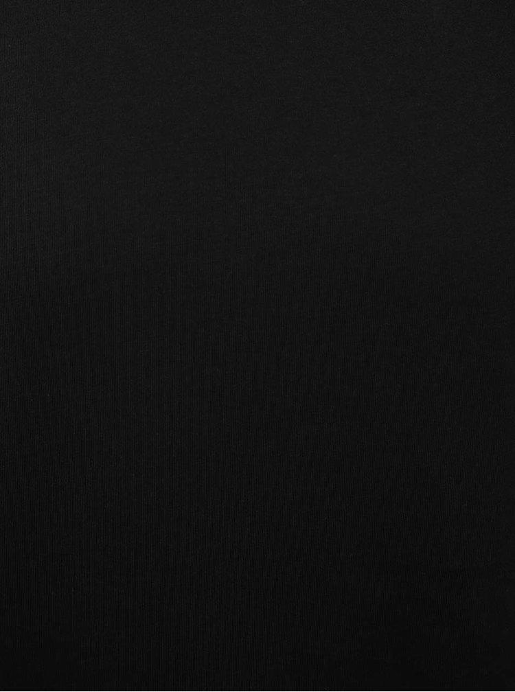 Tricou basic negru Jack & Jones Corafe