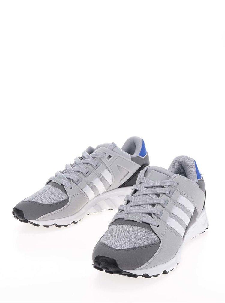 Pantofi sport gri pentru barbati adidas Originals Equipment Support