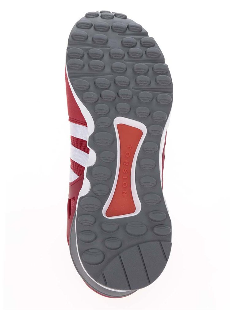 Pantofi sport roșu burgundy pentru bărbați adidas Originals Equipment Support