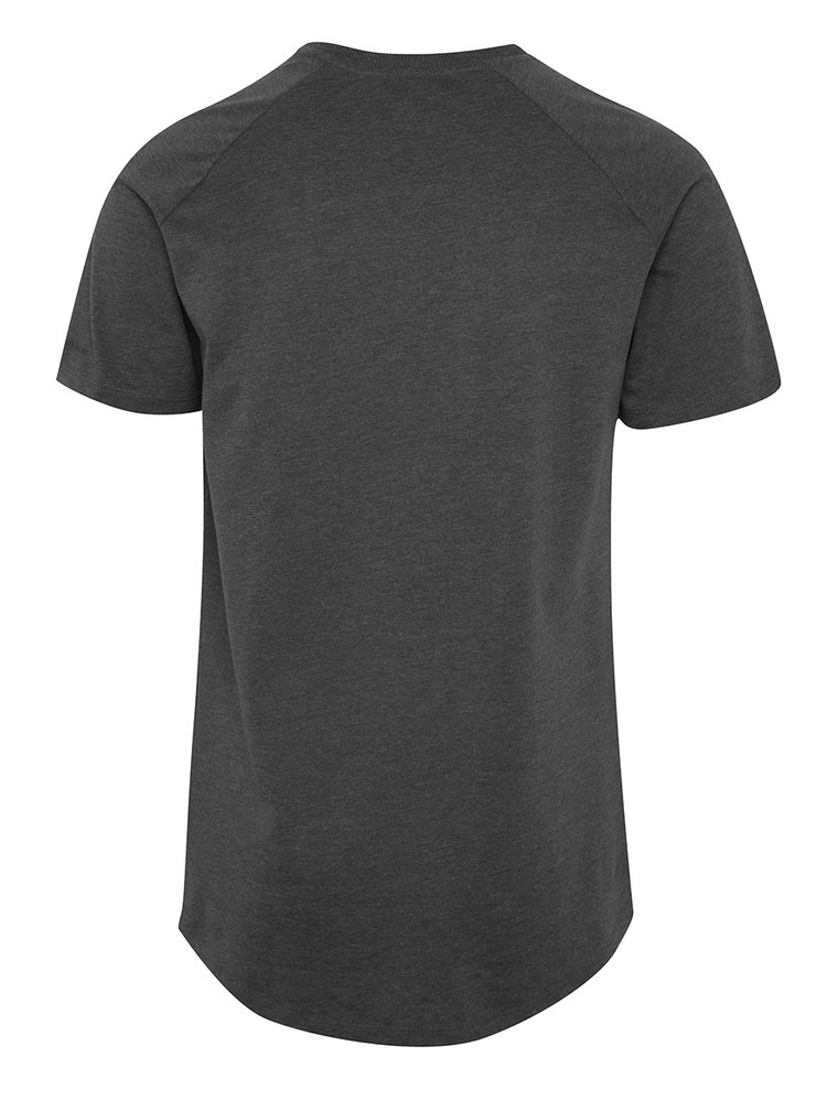 Šedé basic tričko s krátkým rukávem Jack & Jones Corafe