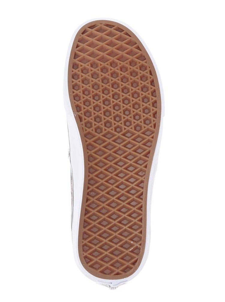 Pantofi sport albastru închis VANS Authentic cu imprimeu