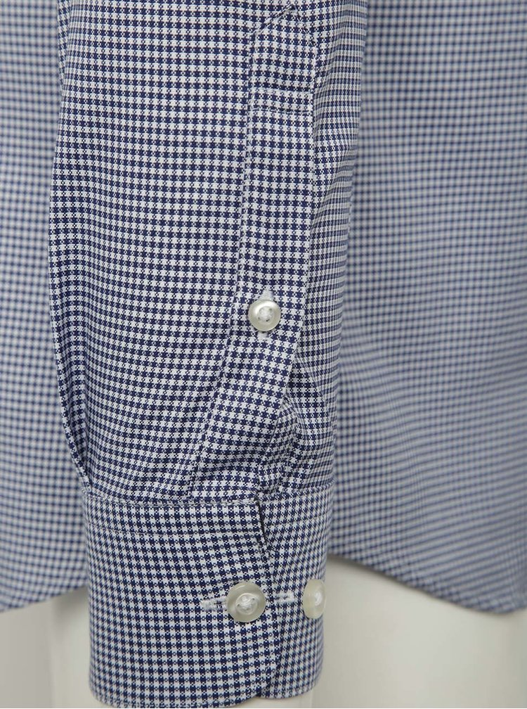 Camasa bleumarin pepit Selected Homme One New