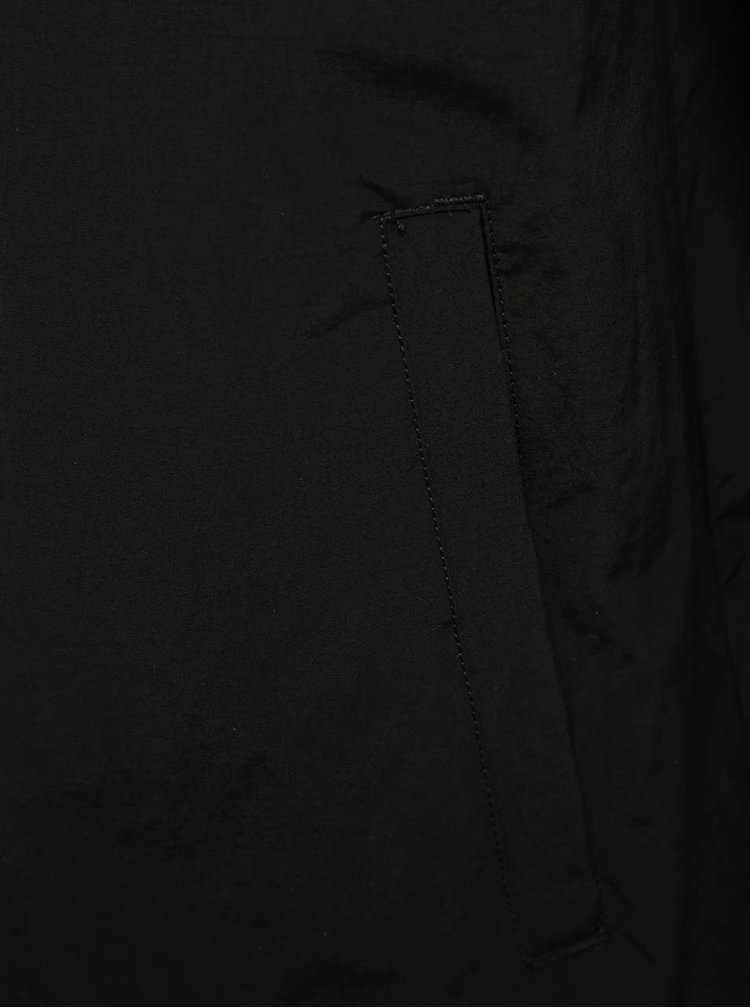 Jacheta bomber neagra Vans cu guler mao