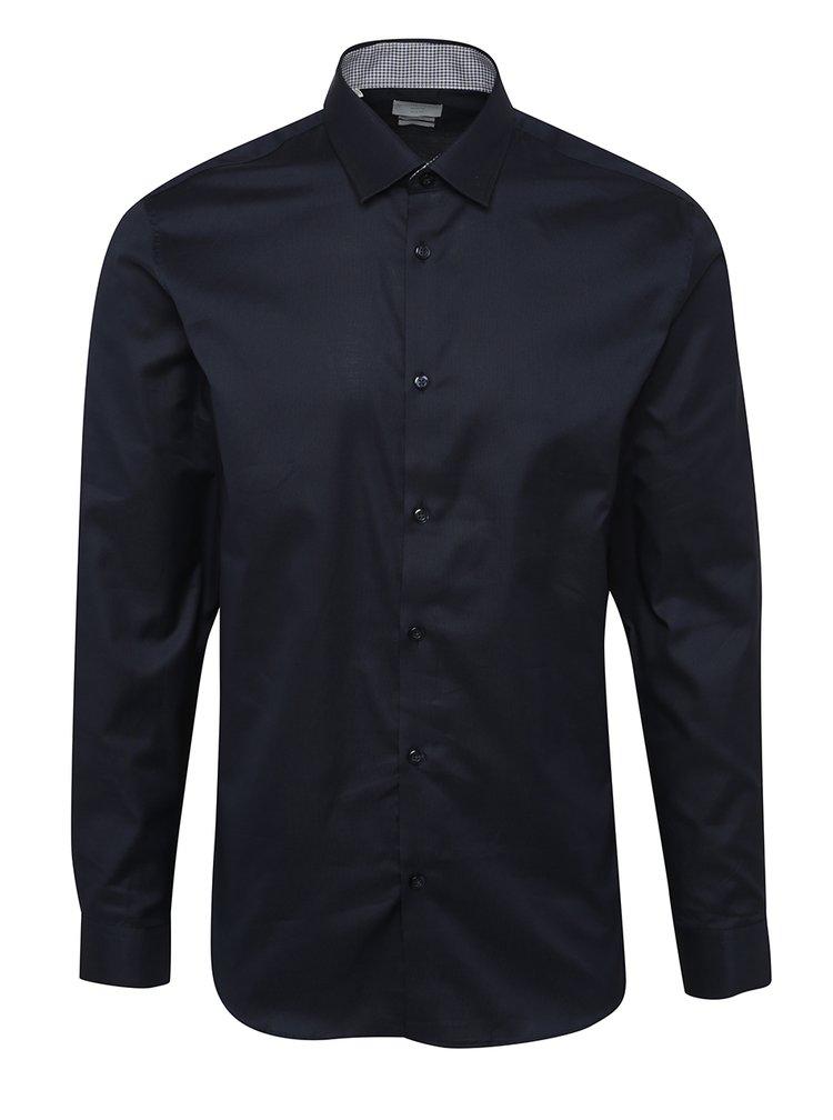 Tmavě modrá formální slim fit košile Selected Homme One New