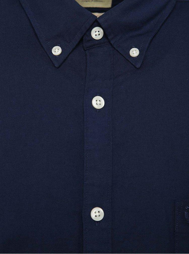 Tmavomodrá košeľa s dlhým rukávom Selected Homme Collect