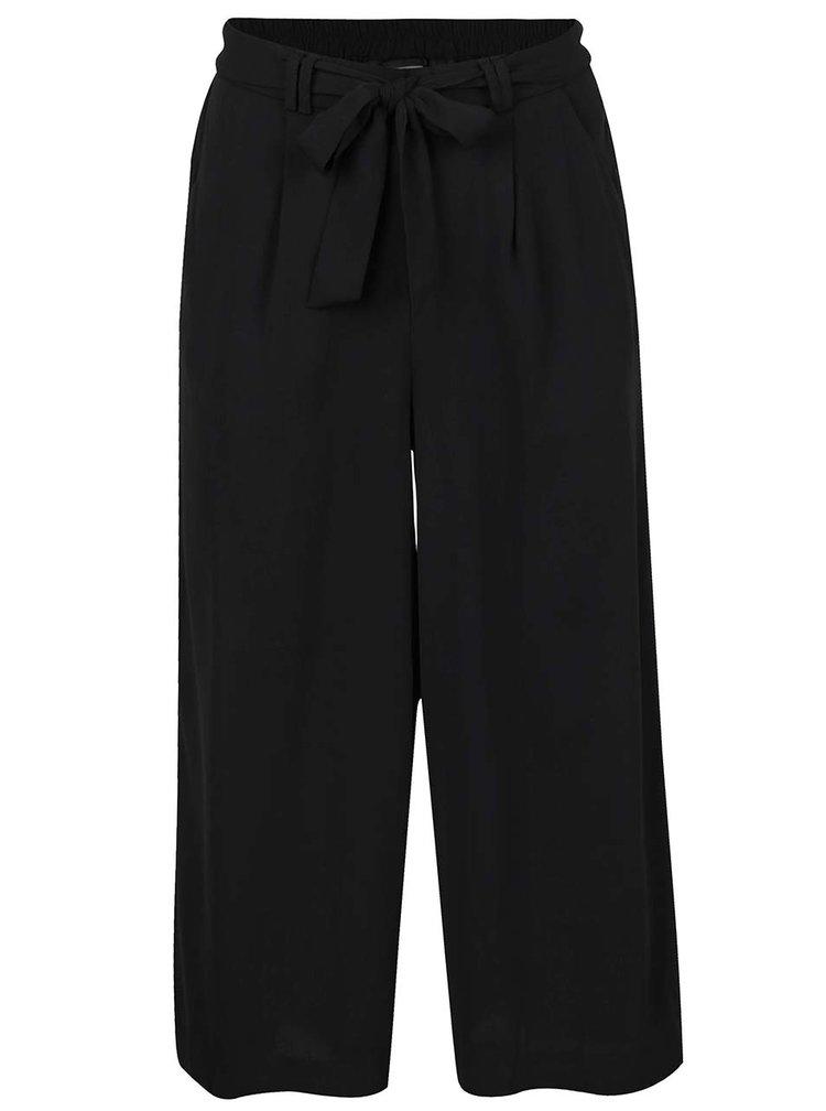Černé culottes se zavazováním VERO MODA Maili