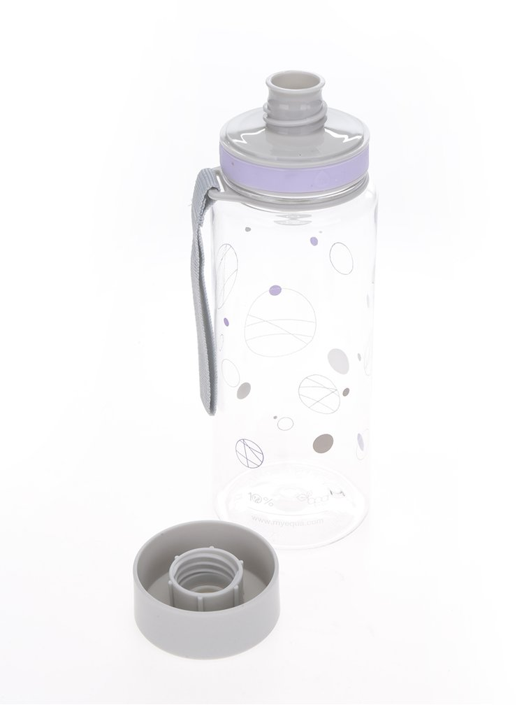 Plastová fľaša s potlačou EQUA (600 ml)