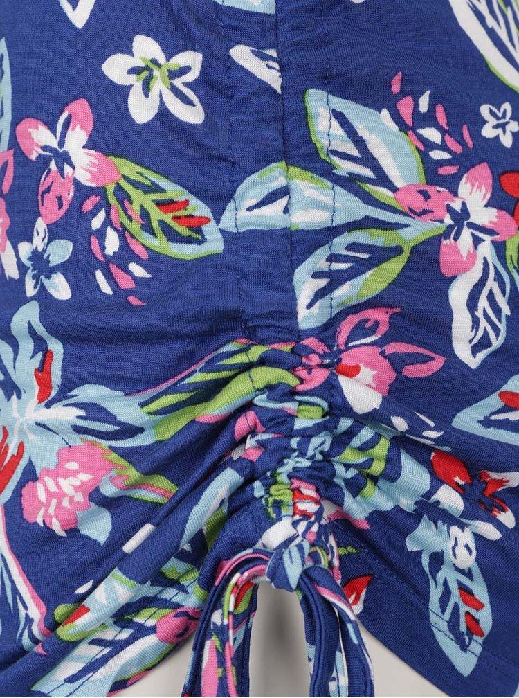 Modré květované tílko Dorothy Perkins