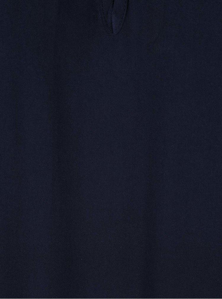 Tmavě modrá volná halenka VERO MODA Sally