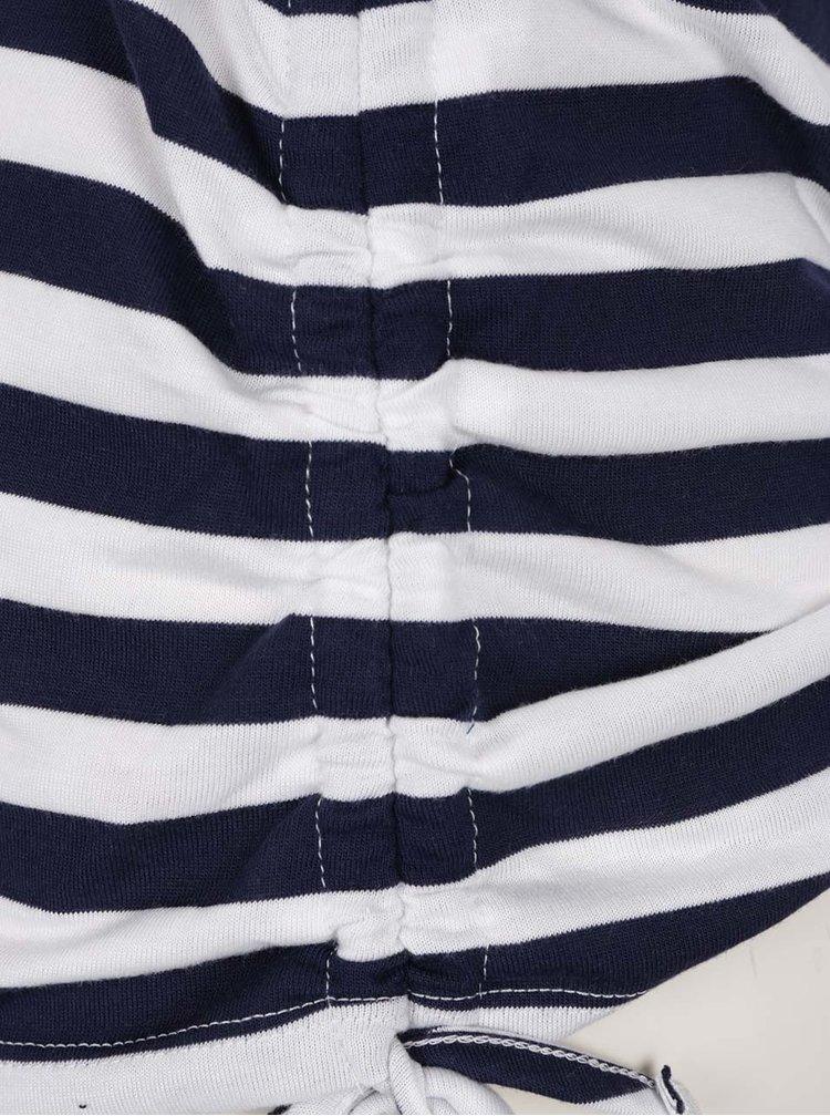 Top albastru&alb Dorothy Perkins cu model în dungi