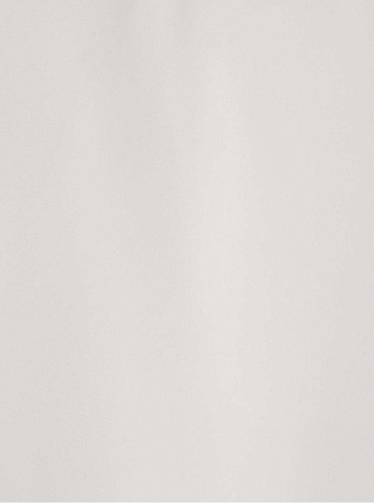 Top alb fildeș VERO MODA Betty cu aplicații din mărgele