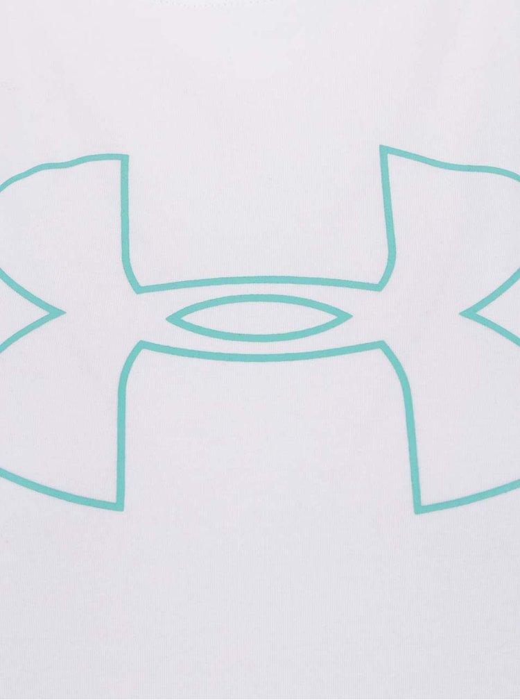 Zeleno-bílé dámské funkční tričko Under Armour
