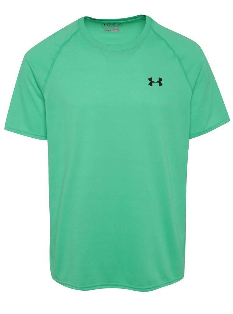 Zelené pánske funkčné tričko Under Armour Tech SS Tee