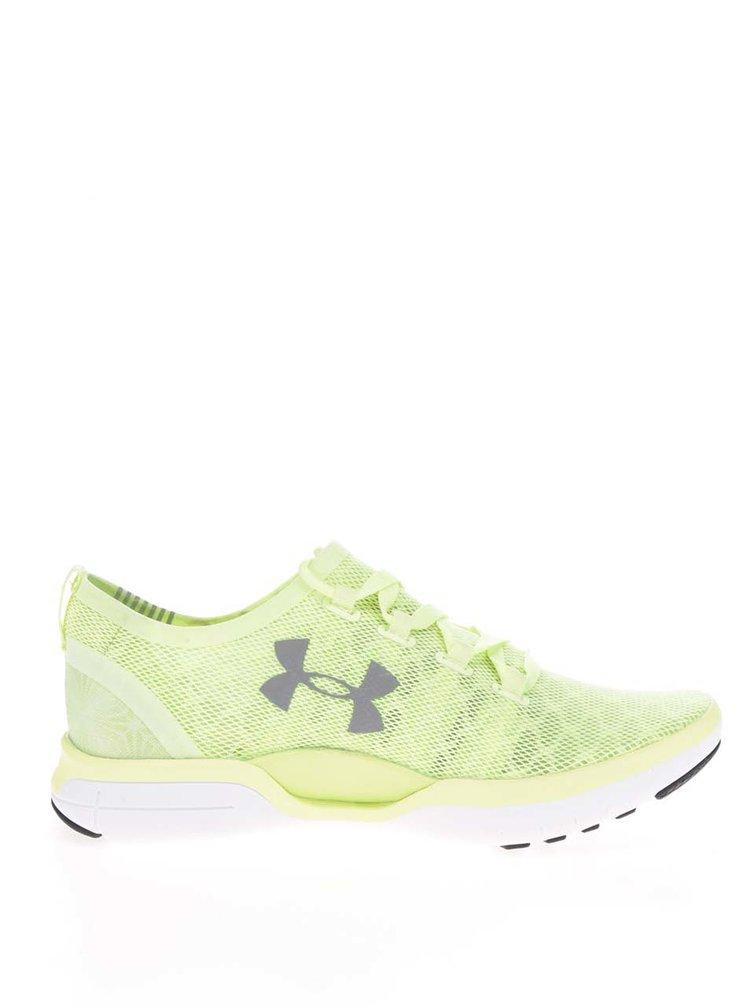 Zelené dámské tenisky Under Armour UA W Charged CoolSwitch Run