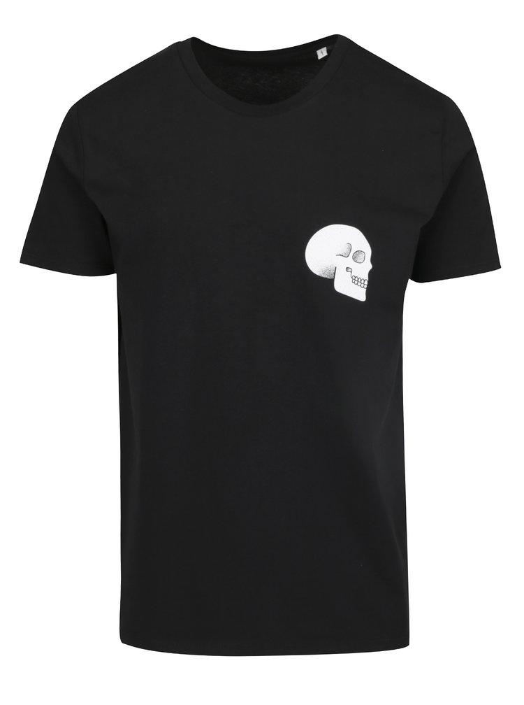 Černé pánské triko ZOOT Originál Skull