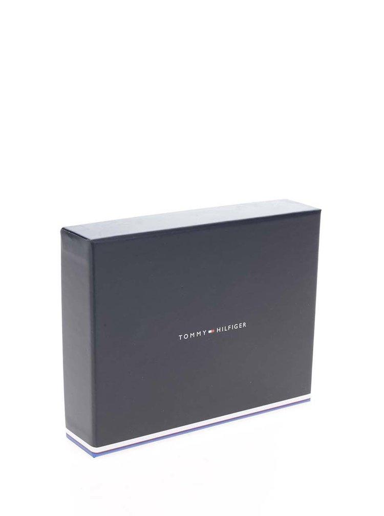 Béžová dámská menší peněženka s kovovým logem Tommy Hilfiger