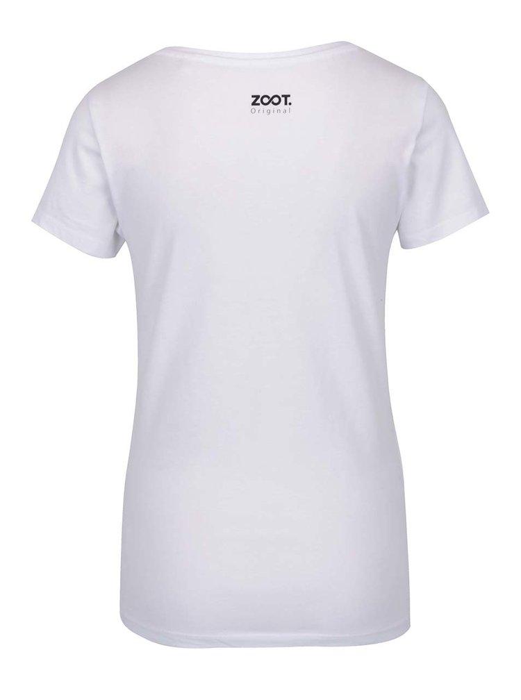 Bílé dámské tričko ZOOT Originál Always lady