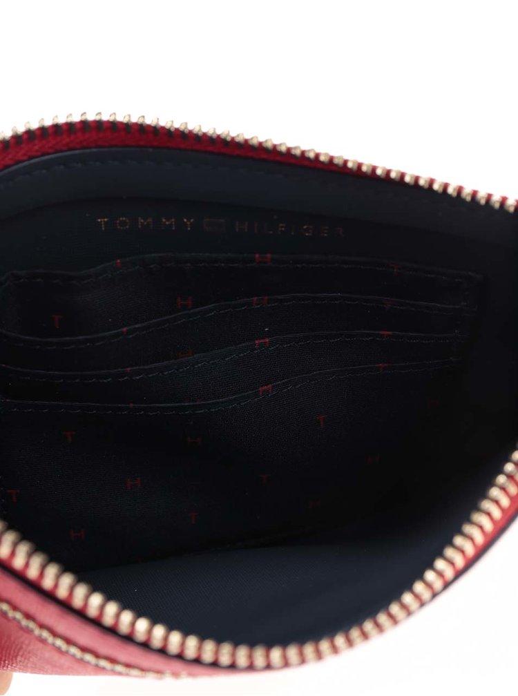 Červené psaníčko/peněženka Tommy Hilfiger