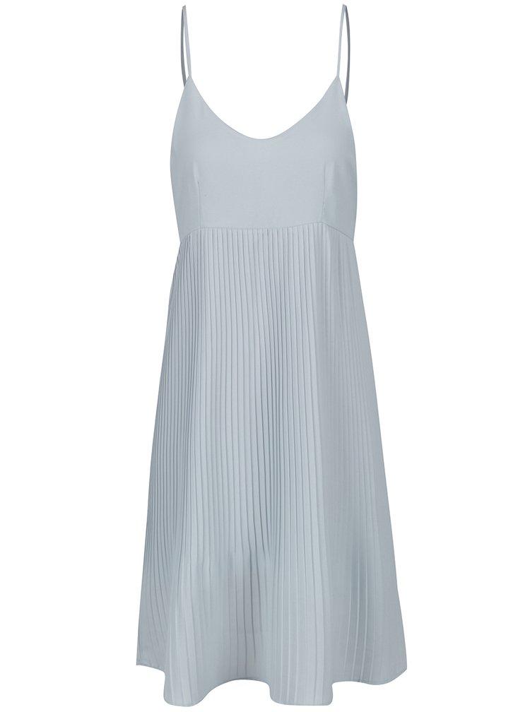 Světle modré plisované šaty Haily´s Lina