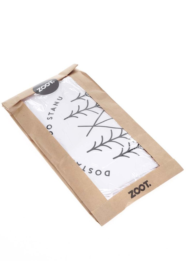 Bílé unisex triko ZOOT Originál Bororo