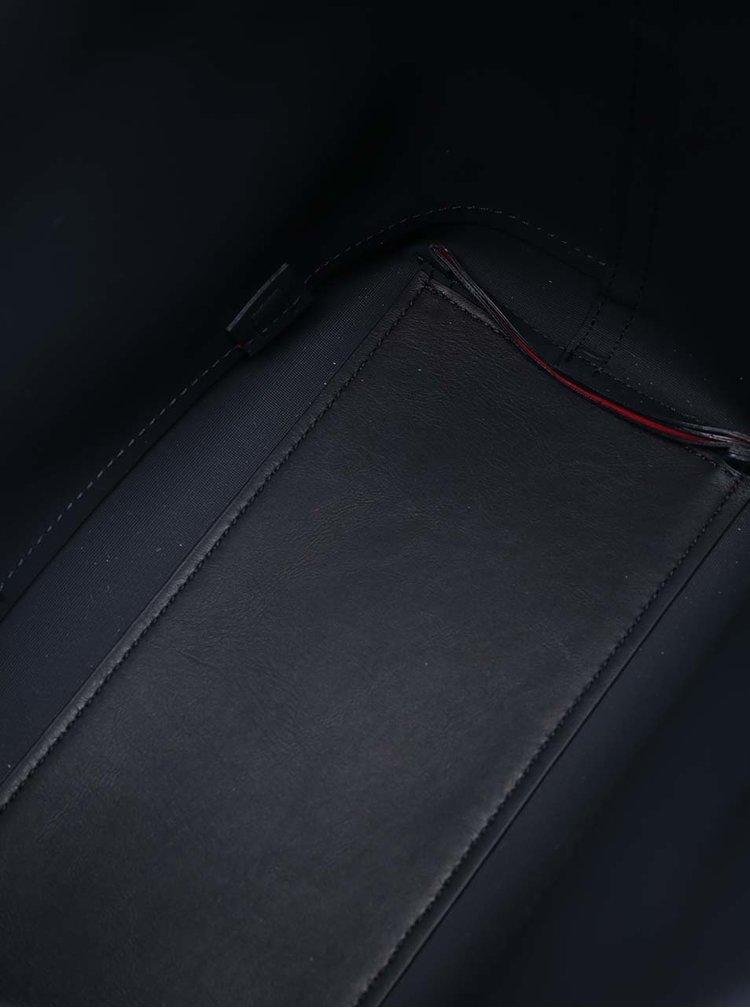 Modro-červený dámský batoh/kabelka Tommy Hilfiger