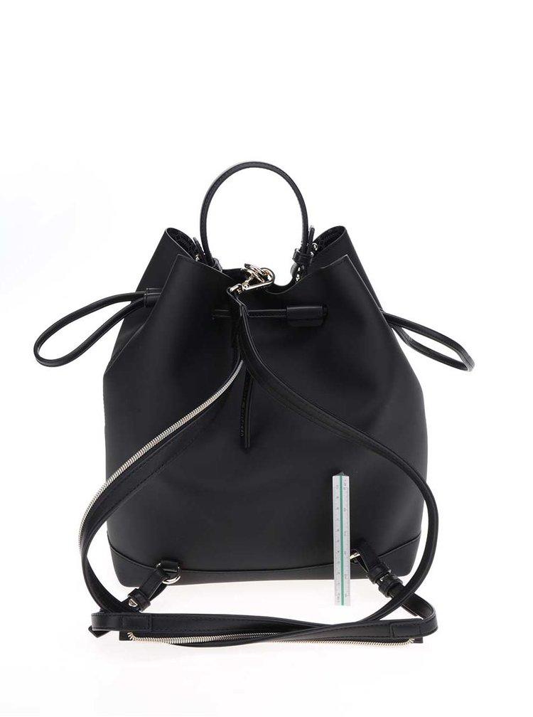 Černý dámský batoh/kabelka Tommy Hilfiger