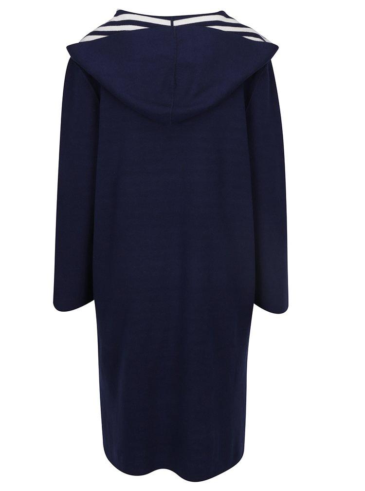 Krémovo-modrý dámský oboustranný cardigan Tommy Hilfiger