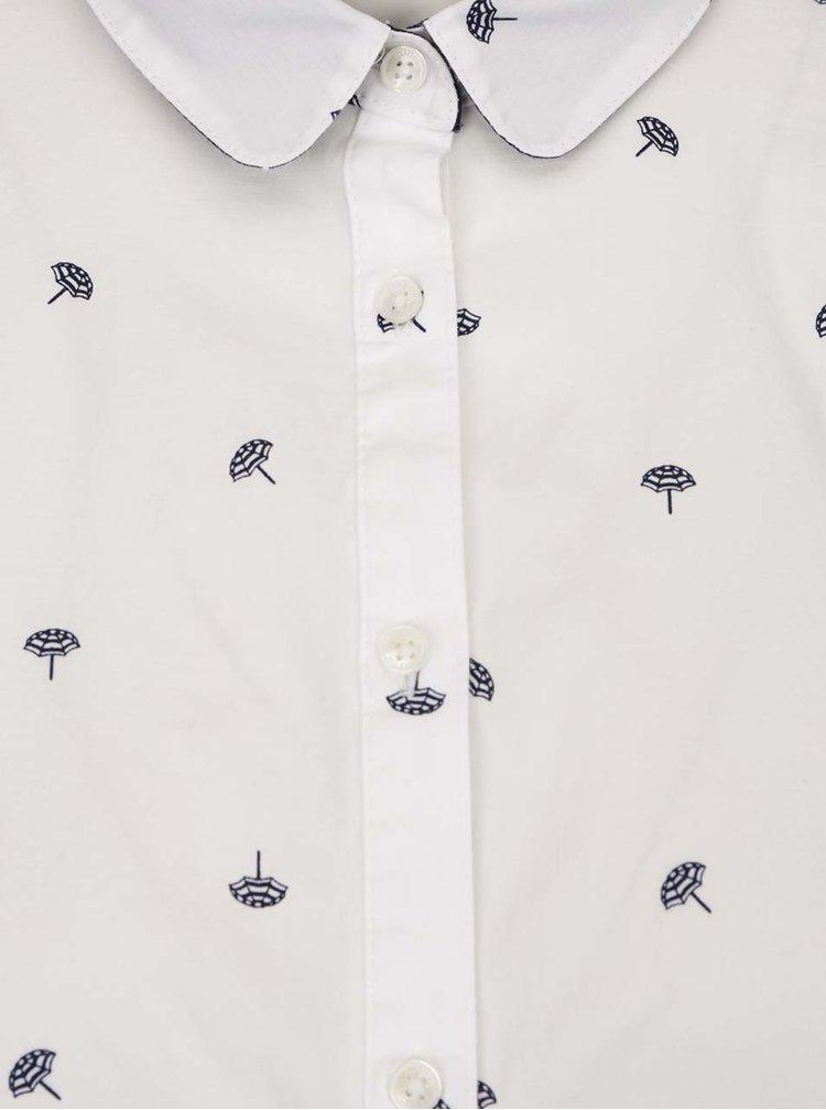 Bílá dámská vzorovaná košile Tommy Hilfiger