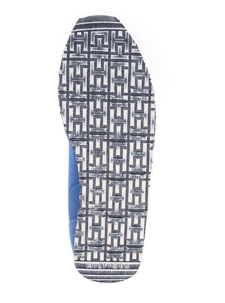 Modré pánské tenisky se semišovými detaily Tommy Hilfiger
