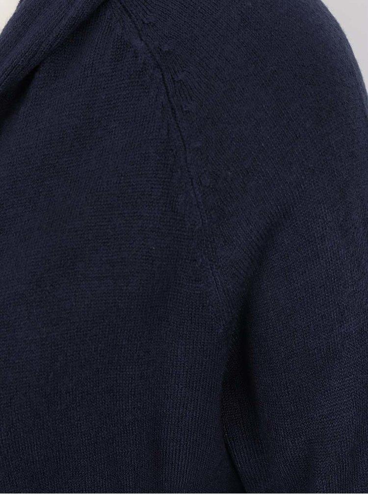 Tmavě modrý dlouhý cardigan Jacqueline de Yong Nona