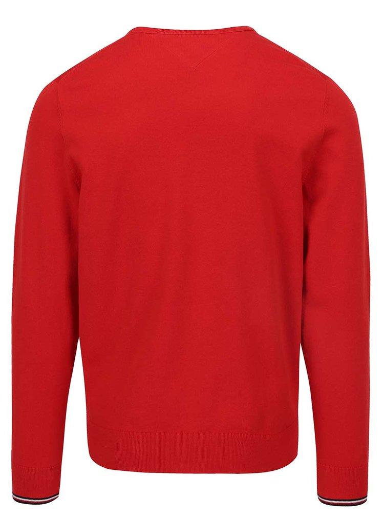 Červený pánský svetr Tommy Hilfiger