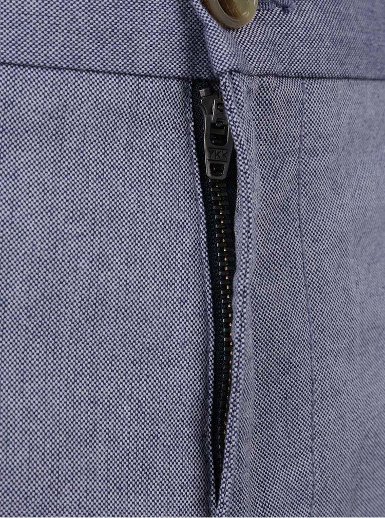 Světle modré pánské vzorované kraťasy Tommy Hilfiger
