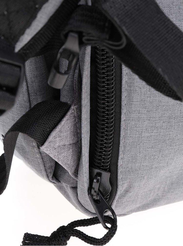 Šedý voděodolný batoh PKG