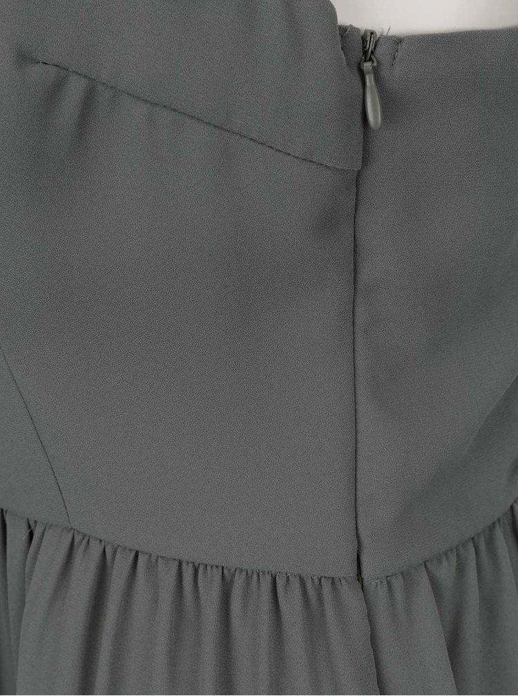 Rochie kaki ONLY Raya cu detalii din dantelă