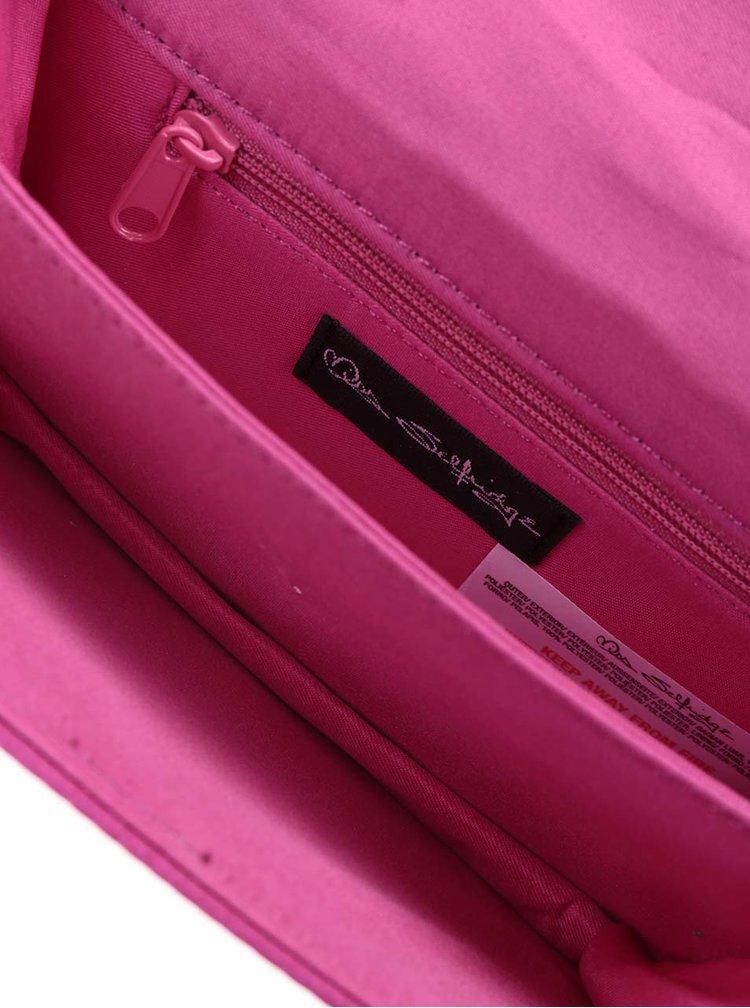 Geanta crossbody roz Miss Selfridge