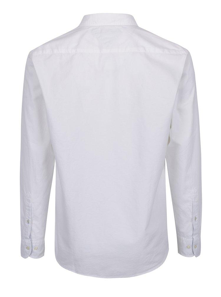 Bílá pánská košile s dlouhým rukávem Tommy Hilfiger