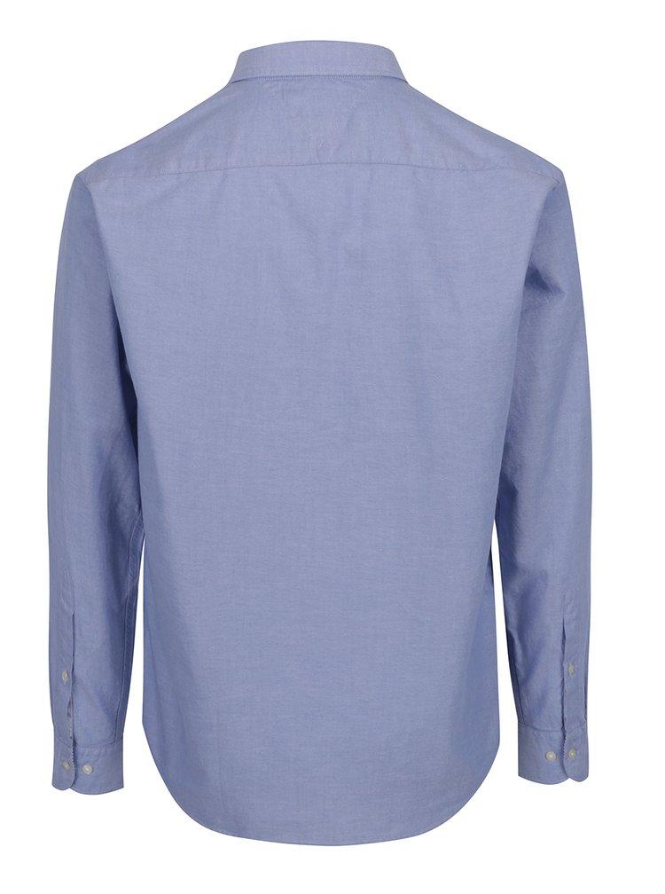 Světle modrá pánská košile s dlouhým rukávem Tommy Hilfiger