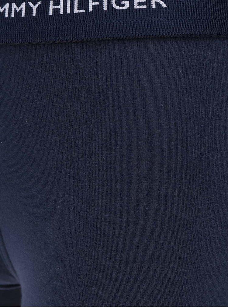 Súprava troch boxeriek v tyrkysovej, modrej a žltej farbe Tommy Hilfiger