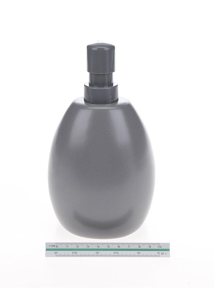 Tmavě šedý dávkovač na saponát Umbra Joey