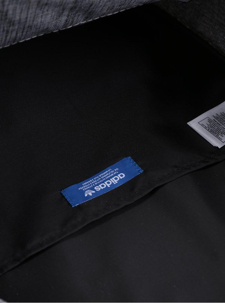 Šedý žíhaný unisex batoh adidas Originals