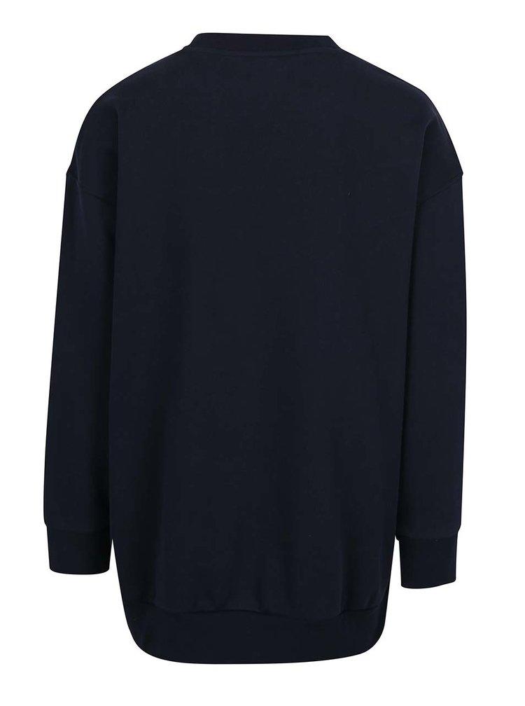 Bluza  neagra cu logo adidas Originals