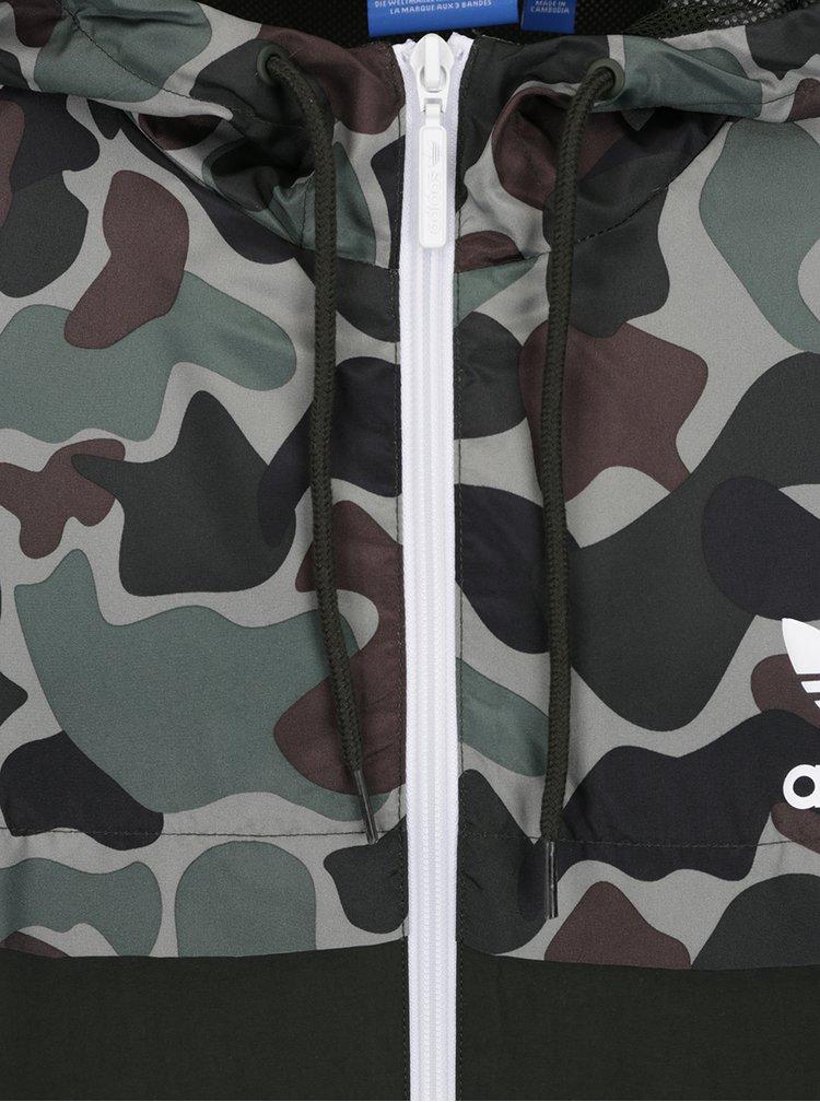 Jacheta verde camuflaj pentru barbati - adidas Originals