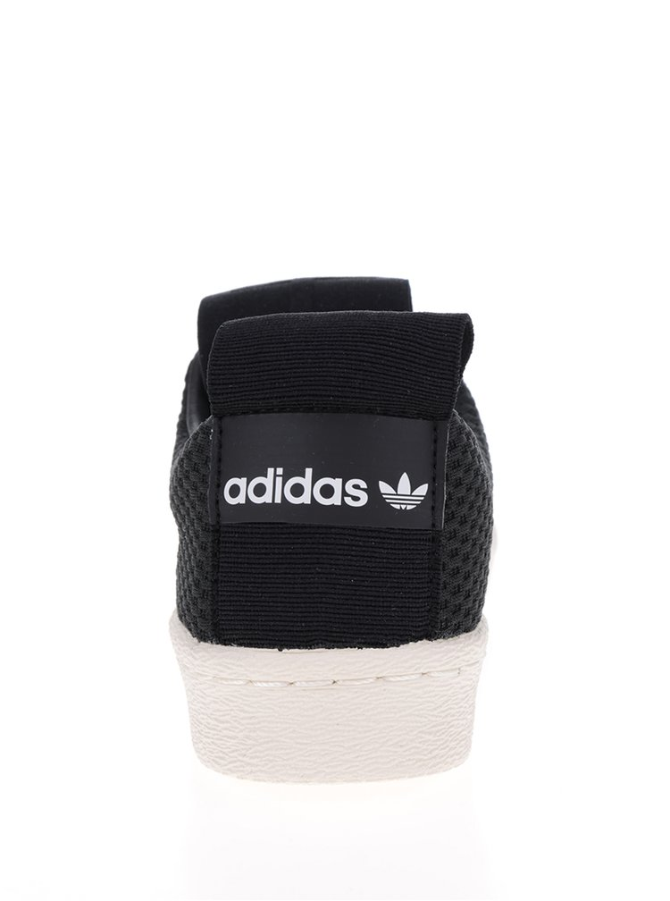 Černé dámské slip on adidas Originals Superstar
