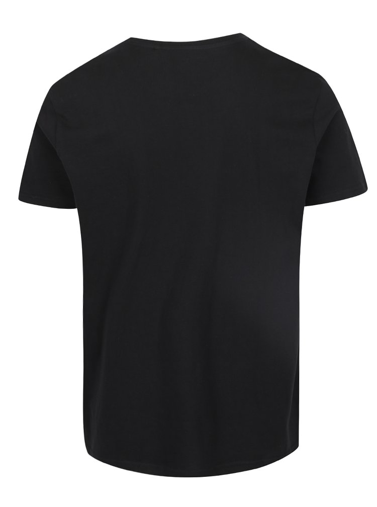 Tricou basic negru Burton Menswear London din bumbac