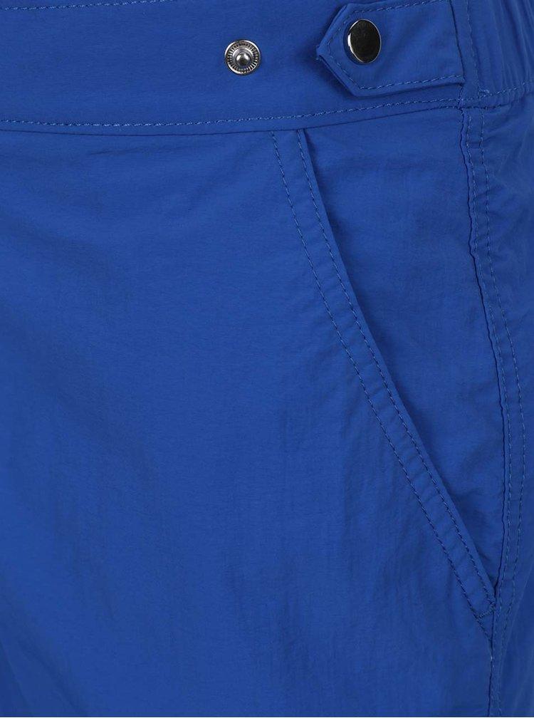 Bermude de plaja albastre Burton Menswear London cu buzunare