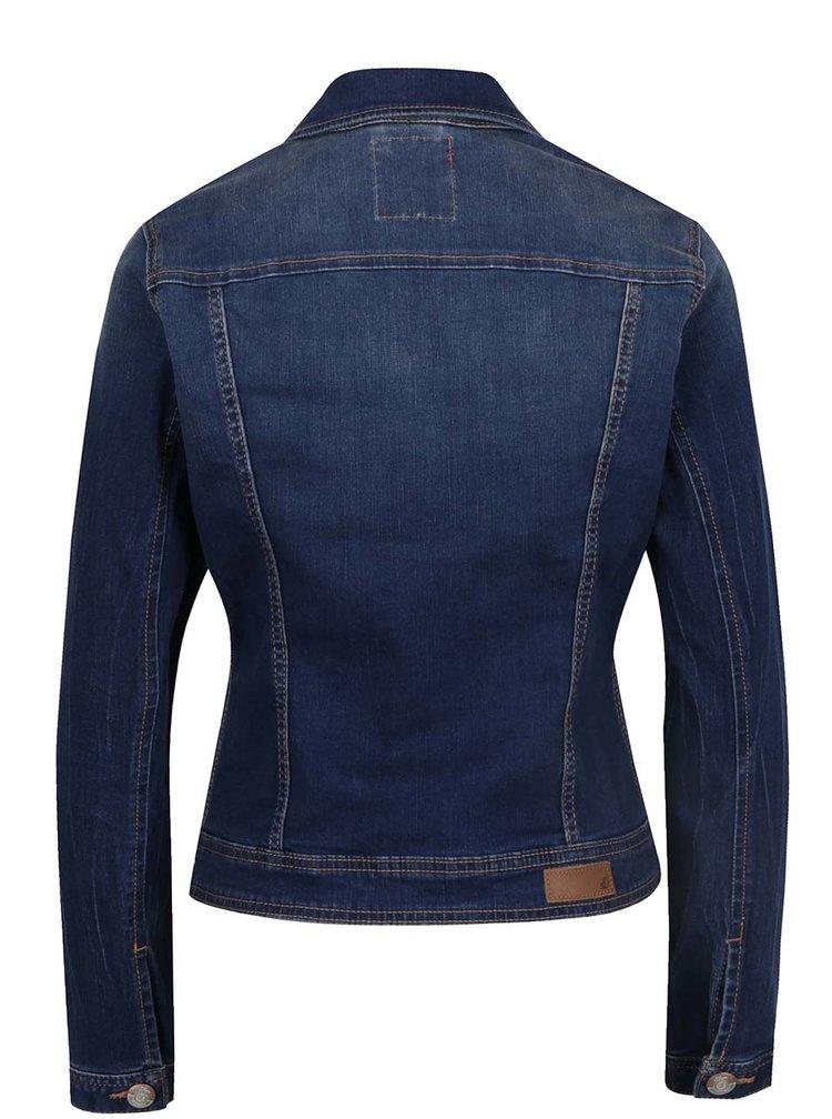 Jachetă albastră din denim s.Oliver pentru femei