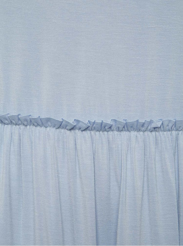 Rochie bleu  Miss Selfridge Petites decupaj la spate