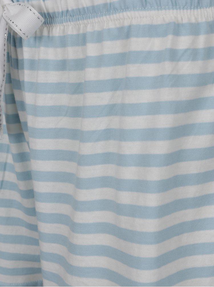 Pijama roz&albastru Dorothy Perkins model în dungi și imprimeu